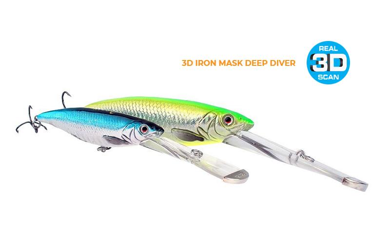 Воблер Savage Gear 3D Iron Mask Deep Diver