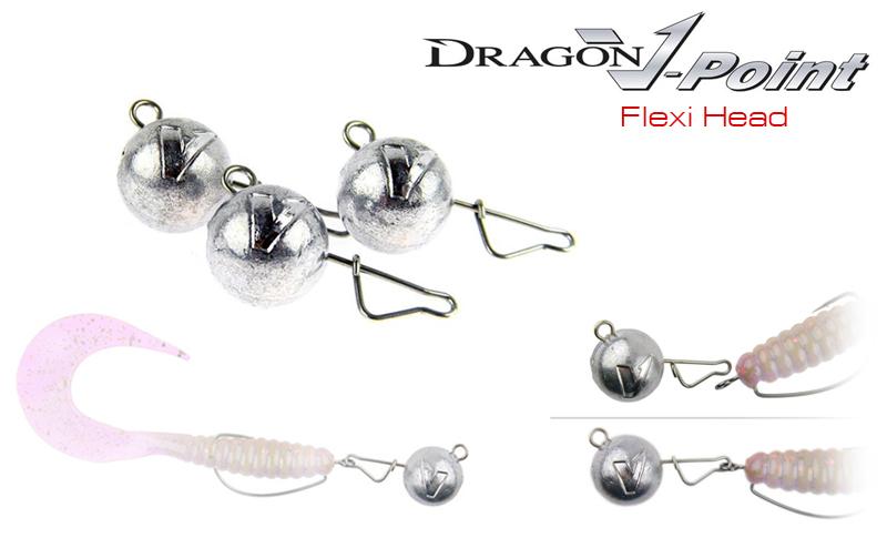 Джиг глава Dragon V-Point Flexi Head