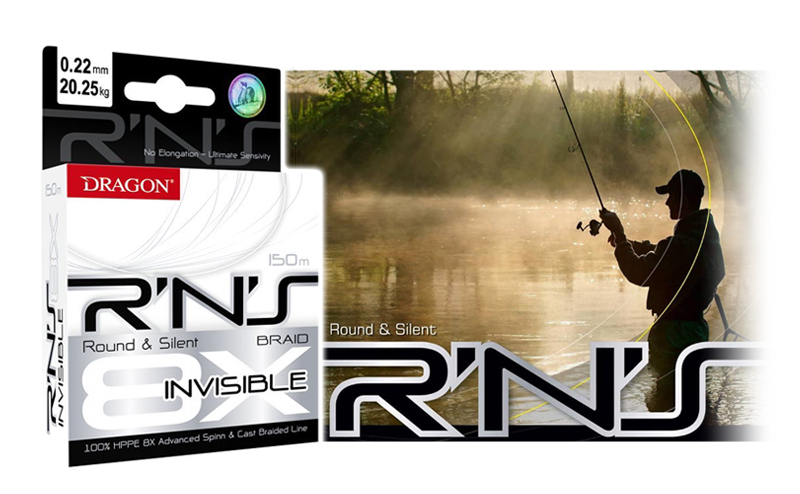 Плетено влакно Dragon RNS Spinn Invisible Round & Silent