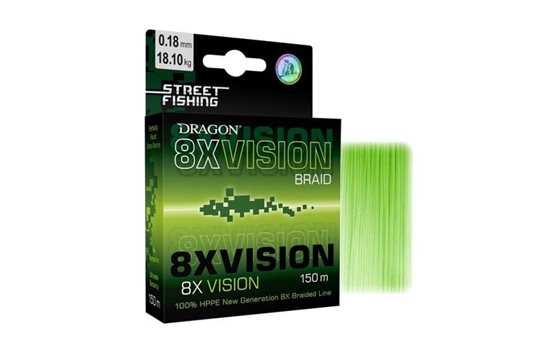 Плетено влакно Dragon Street Fishing 8X Vision Braid