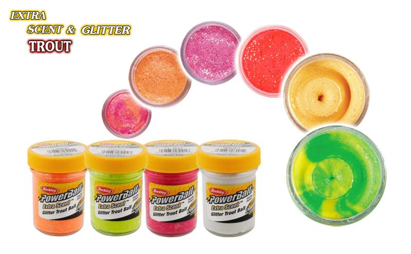 Паста Berkley Extra Scent Glitter Trout
