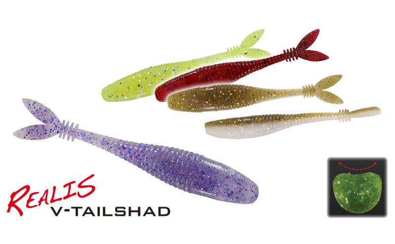Силикон Duo Realis V-Tail Shad