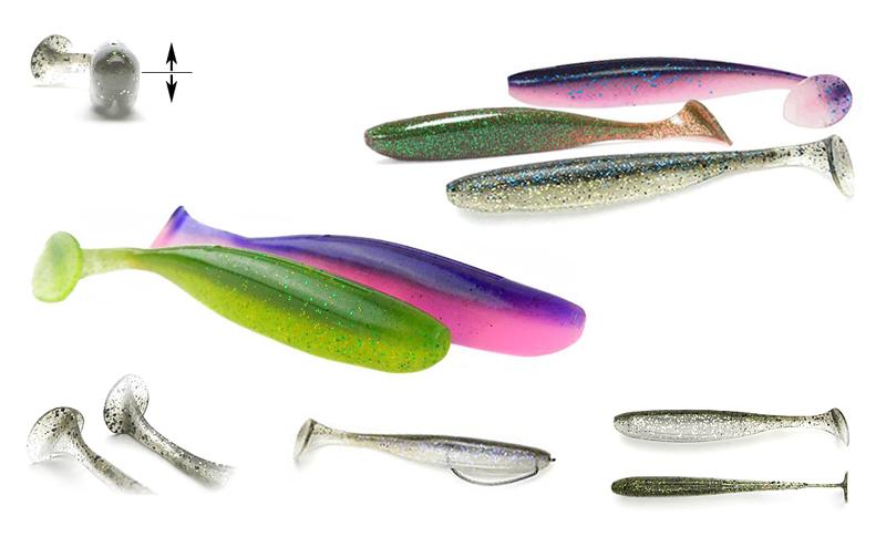 Силиконова рибка Keitech Easy Shiner
