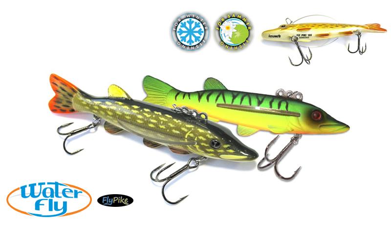 Воблер Izumi Water Fly Pike