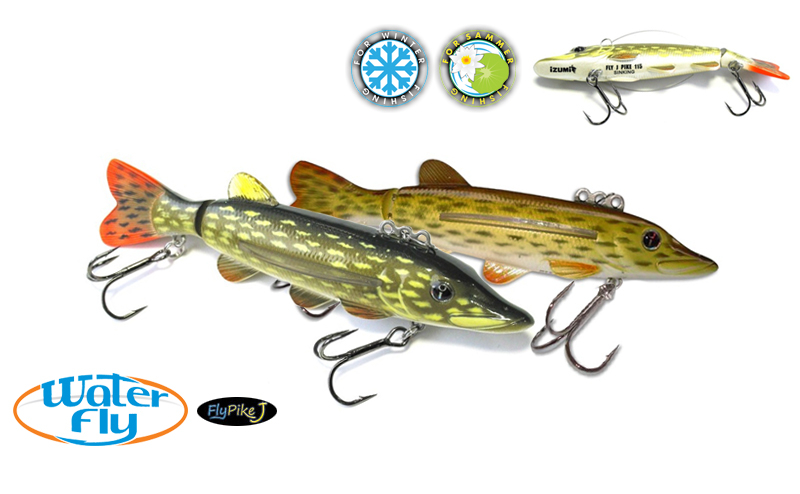 Воблер Izumi Water Fly Pike Jointed