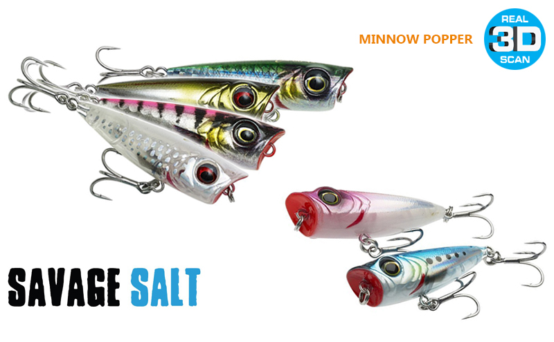 Попер Savage Gear 3D Minnow Popper