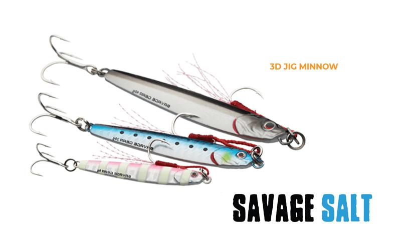 Джиг Savage Gear 3D Jig Minnow
