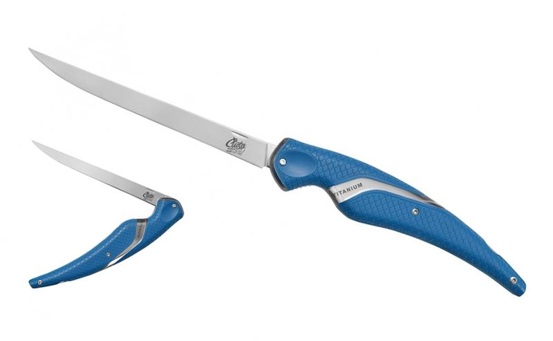 Нож Cuda Titanium Fillet Folding 18205