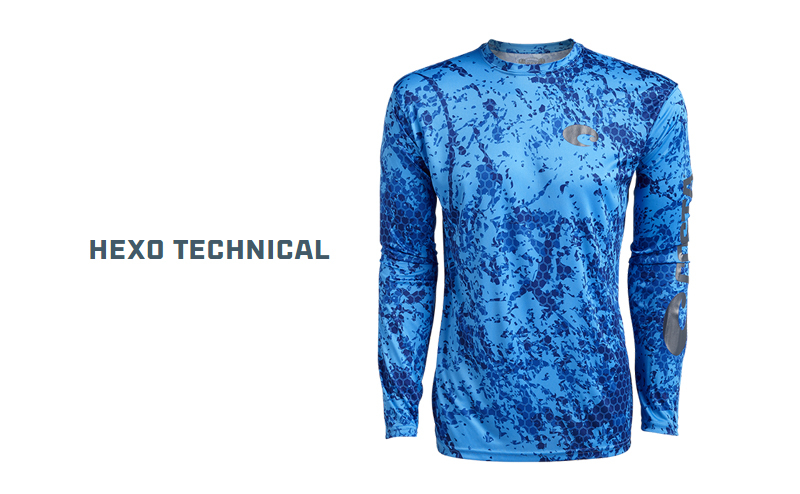 Блуза Costa Hexo Technical Long Sleeve
