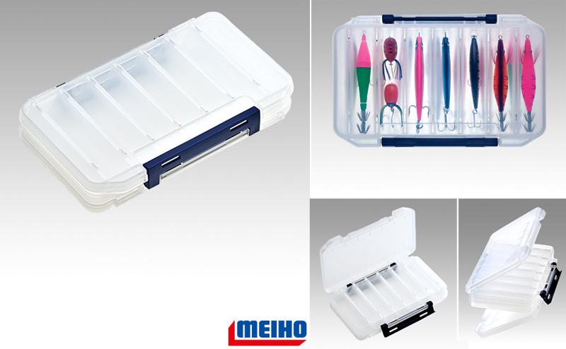 Кутия за воблери Meiho Reversible 100