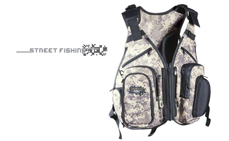 Елек с раница Dragon Street Fishing Vest Tech 98-13-003