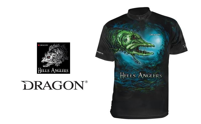 Тениска Dragon Hells Anglers Pike