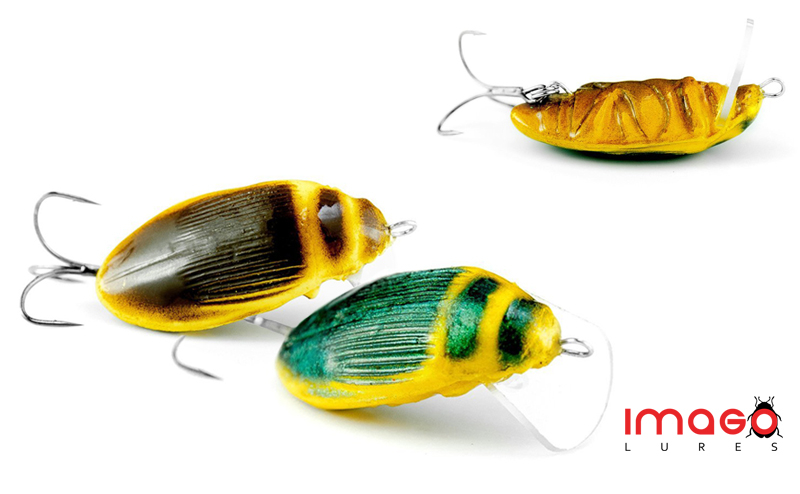 Воблер-бръмбар Imago Great Diving Beetle