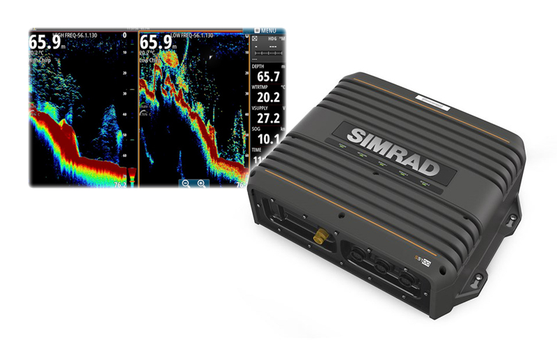 Simrad S5100 Pro CHIRP процесор 3kW за NSS/NSO